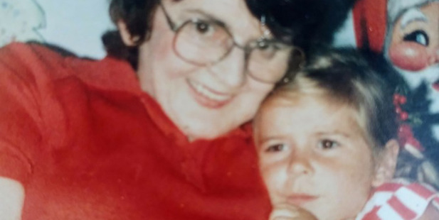 Young Renee with her Nana. Photo / Supplied