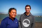 Pikiteora Takiari-Toro and Arapeta Latus found inspiration on the open sea. Photo Bevan Conley