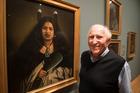 Artist Harry Sangl spent his 95th birthday visiting the Lindauer exhibition, The Maori Portraits: Gottfried Lindauer's New Zealand, at the Auckland Art Gallery. Photo/ Jason Oxenham