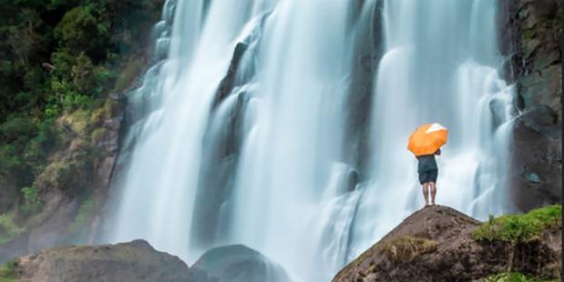 Marakopa Falls, Waikato Picture / Ben Mikha