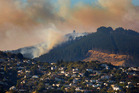Photos: Port Hills fires