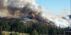 View: Fire rips through the Port Hills