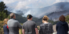 View: Burning battle in the hills