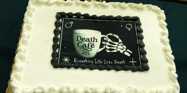 The Death Cafe is a world-wide social franchise for chatting openly about dying and death.