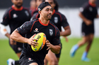 Shaun Johnson is set to sign a new deal with the Warriors. Photo / photosport.nz