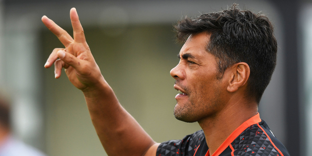 Coach Stephen Kearney at NZ Warriors training session. Photo/Photosport
