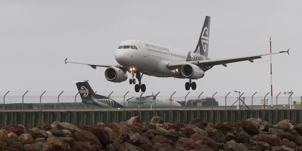 Air New Zealand Airbus A320. Photo / Mark Mitchell