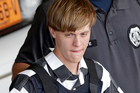 Dylann Roof, who killed nine black members of Charleston's Emanuel AME Church in June 2015, has asked for a new federal trial. Photo / AP