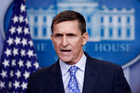 National Security Adviser Michael Flynn announced his resignation today - CNN has reported. Photo / AP