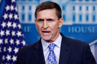 Former National Security Adviser Michael Flynn who resigned this week from his position. Photo / AP