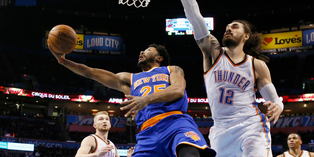 Russell Westbrook's 27th Triple-Double Lifts Thunder Past Knicks