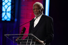 Morgan Freeman was featured in promotional material for a movie he doesn't appear in at all. Photo/AP