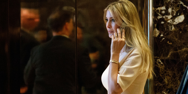 So if certain department stores don't need Ivanka Trump, the brand has to figure out a way to change that - or it has to find another pathway to wide distribution. Photo / AP