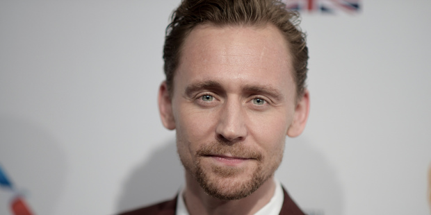 Tom Hiddleston, seen here at the BAFTA Awards earlier this month, had an unfortunate incident on set. Photo/AP