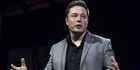 Elon Musk, shared his ideas during the World Government Summit in Dubai. Photo / AP