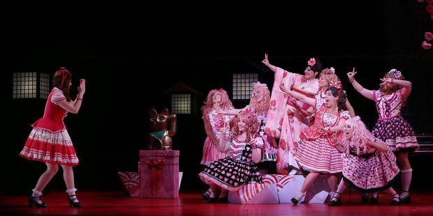 Stuart Maunder directs NZ Opera's The Mikado, now playing at the ASB Waterfront Theatre until Sunday.