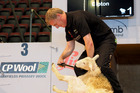 Bill English sheared that sheep. In front of a crowd. On TV. Photo / Supplied