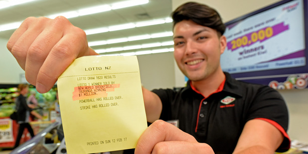 Brookfield New World checkout operator James Bowkett may have sold last week's $1 million winning ticket. We (media) perpetuate the fantasy we could all change our lives with a $14 Triple Dip.