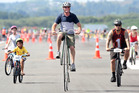 Rotorua Bike Festival's unique Ride the Runway is this Saturday.  Photo/Ben Fraser