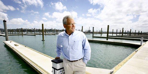 Developer Tony Mair whose company is proposing the new Waiheke marina. Photo/Bradley Ambrose