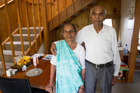 Jeram Ravji and his wife Ganga Ravji, who live in Auckland, have been married nearly 82 years. Photo / Jason Oxenham