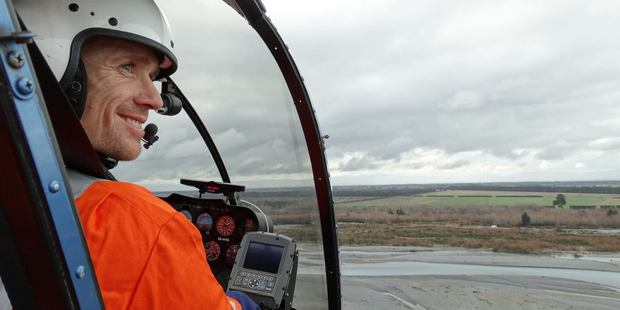 Steven Askin died on Tuesday when his helicopter crashed in Christchurch's Port Hills. Photo / Facebook