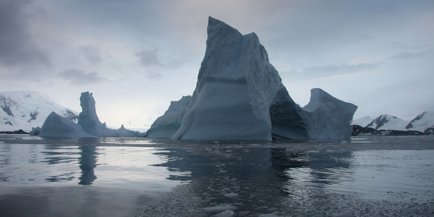 The remnants of the Larsen B Ice Shelf in the Weddell Sea Antarctica. Photo / NASA/Ted Scambos/NSIDC