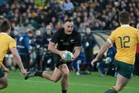 IT'S BLACK: Hawke's Bay's Israel Dagg is sticking with New Zealand rugby. PHOTO/DARREN TAUMATA