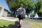 An 11-year-old boy was approached by a stranger in a white van on his way to a Northcote school yesterday. Photo / file