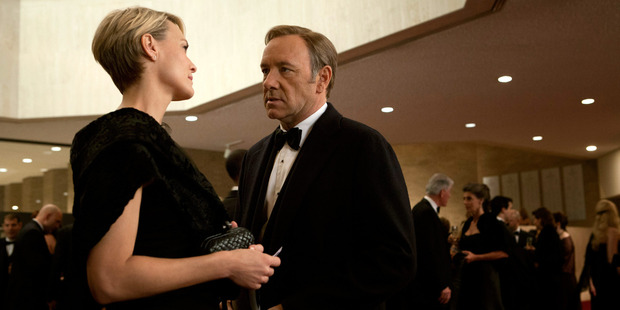 House of Cards is one of Netflix's television series.