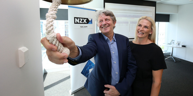 AFT Pharmaceuticals managing director Hartley Atkinson with wife Maree Atkinson. AFT Pharmaceuticals expects annual sales to meet analysts' forecasts of about $70 million.