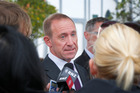 Labour leader Andrew Little said it would match local investment in a building materials plant in Gisborne. Photo / File