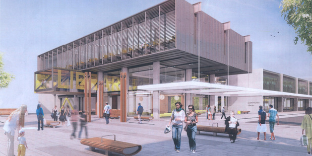Westgate Library to built in Massey, Auckland .