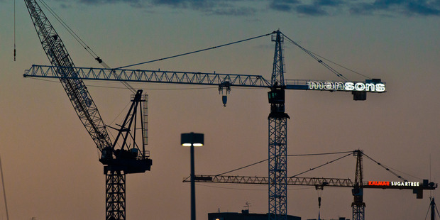 A survey out today predicts construction sector activity levels will peak soon. Photo/Greg Bowker