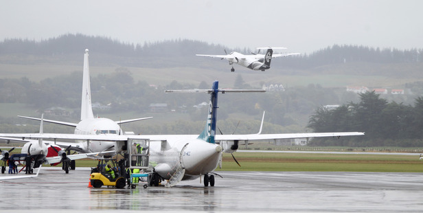 One Air New Zealand flight was cancelled due to crew illness and another delayed because of engineering requirements this morning. Photo/Duncan Brown.
