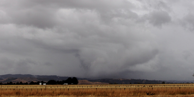 Cloud and rain are set to roll in to Hawke's Bay over the next week with Metservice expecting up to 80mm of rainfall. Photo / Paul Taylor