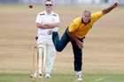Onerahi Central's Martin Tansley took eight wickets in his side's match against Kamo Reserves. Photo/John Stone