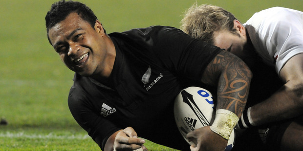 Sione Lauaki played 17 Tests, including one in 2008 against England in Christchurch where he scored a try. Photo / File