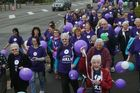 Alzheimers Memory Walk in Levin. Photo / Ashleigh Collis