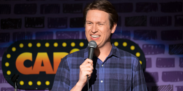 Crashing is loosely based on Pete Holmes' own life.