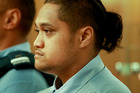 Tamehana Huata denies causing the death of Matiu Wereta, 2. He is on trial in the High Court at Napier. Photo/Warren Buckland