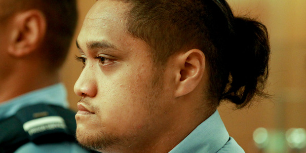 Tamehana Huata on trial Napier court charged with causing death of Matiu Wereta, 2 by an unlawful act thereby committing manslaughter. Hawke's Bay Today photograph by Warren Buckland