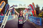 Sam Warriner romped home to her fifth Kinloch Triathlon title just five months after giving birth to her second daughter. Photo/Instagram