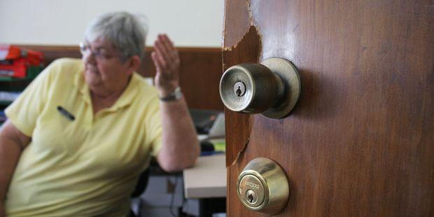 Thieves have broken into Levin's Arohanui Hospice shop. Photo / Ashleigh Collis