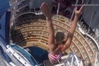 Sydney Brown, an acrobat aboard the largest cruise ship ever built, has just wrapped nearly a year on the high seas.