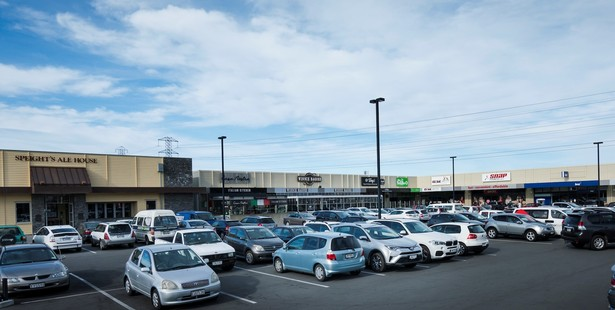 The Ferrymead Central suburban retail centre in Christchurch. Photo / Supplied