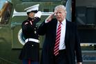 US President Trump's behaviour has the world's intelligence communities worried, including New Zealand's. Photo / AP