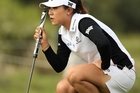 Lydia Ko was six shots off the lead after the opening round of the Australian Open yesterday. Photo / Getty Images