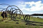 Sculpture On The Gulf on Waiheke Island. Photo / Doug Sherring
