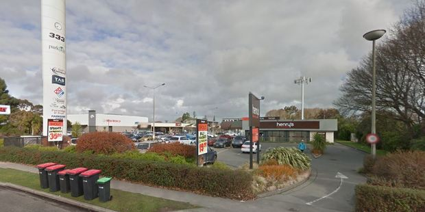 Two people were stabbed at Domino's on Harewood Road. Photo / Google Maps